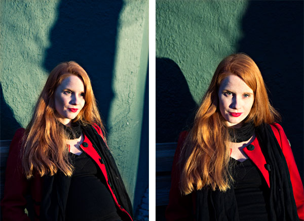 Photos of journalist, blogger, editor, political activist Susanne Kaluza for Stella Magazine, Norway.